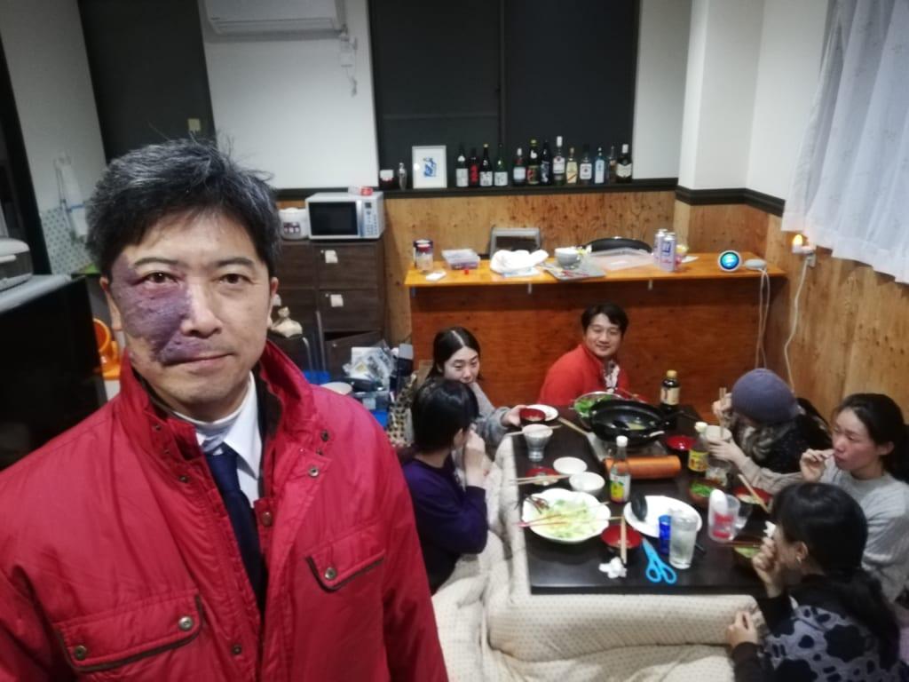 2019年11月29日、入居者の歓送迎会の様子
